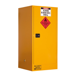 Flammable Storage Cabinet 350 Liters - 1 Door, 3 Shelf