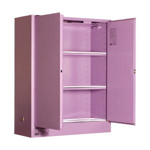 Corrosive Storage Cabinet 350 Liters - 2 Door, 3 Shelf