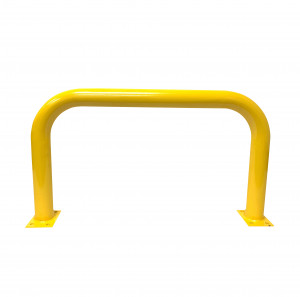 Barrier Protector - 500mm High x 1200mm Wide - 76mm Tube Yellow