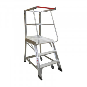 3 Step Order Picker Ladder - 0.84m