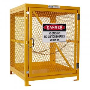 Forklift Storage Cage - 1 Storage Level Up To 4 Forklift Cylinders