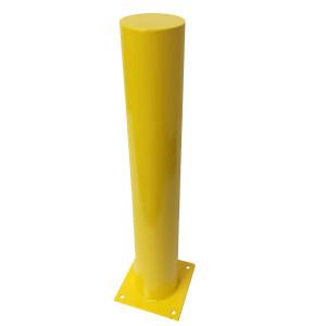 Safety Bollard Surface Mount 1000mm High x 140mm Diameter Yellow