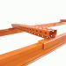 Forklift Entry Bars