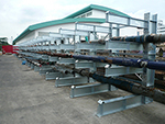 Heavy Duty Cantilever Racking Outdoor